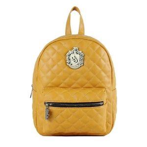 Yellow Hufflepuff backpack